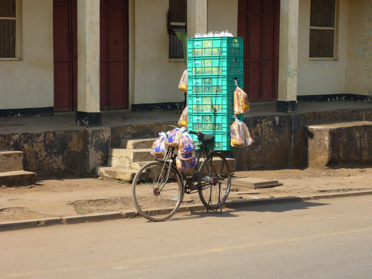 Vélocipède en Afrique